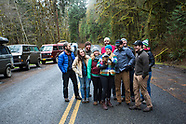 Olympic Peninsula, Washington 2014 New Years Van Camping Photos