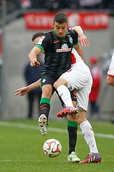 21.03.2015, RheinEnergieStadion, Köln, GER, 1. FBL, 1. FC Köln vs SV Werder Bremen, 26. Runde, im Bild Franco di Santo (SV Werder Bremen #9) // during the German Bundesliga 26th round match between 1. FC Cologne and SV Werder Bremen at the RheinEnergieStadion in Köln, Germany on 2015/03/21. EXPA Pictures © 2015, PhotoCredit: EXPA/ Eibner-Pressefoto/ Schüler<br /> <br /> *****ATTENTION - OUT of GER*****