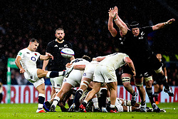 Danny Care of England kicks the ball - Mandatory by-line: Robbie Stephenson/JMP - 10/11/2018 - RUGBY - Twickenham Stadium - London, England - England v New Zealand - Quilter Internationals