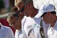ITALY, Sardinia, Cagliari. 24th July 2011. AUDI MedCup. Audi Sailing Team powered by ALL4ONE winners of the Region of Sardinia Trophy.
