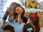 Queen Rania Visits Queen Rania Family & Child Center