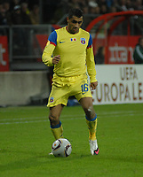 Football - UEFA Europa League - FC Utrecht vs. Steaua Bucharest. Banel Nicolita - Steaua.
