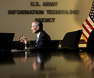 Gregory L. Garcia, Executive director, U.S. Army Information Technology Agency, Office of the Administrative Assistant (OAA) to the Secretary of the Army, photographed at the Pentagon on Jan. 7, 2015. (Alan Lessig/Staff)