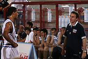DESCRIZIONE : Porto San Giorgio 3&deg; Torneo Internazionale dell'Adriatico Italia-Slovacchia<br /> GIOCATORE : Daniel Hackett Carlo Recalcati<br /> SQUADRA : Nazionale Italiana Uomini Italia<br /> EVENTO : Porto San Giorgio 3&deg; Torneo Internazionale dell'Adriatico<br /> GARA : Italia Slovacchia<br /> DATA : 04/06/2007<br /> CATEGORIA :<br /> SPORT : Pallacanestro <br /> AUTORE : Agenzia Ciamillo-Castoria/E.Castoria