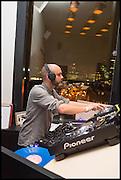 DJ, Frieze party, ACE hotel Shoreditch. London. 18 October 2014