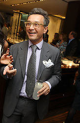 TOMASZ STARZEWSKI at a party to celebrate the publication of 'The Russian House' by Ella Krasner held at De Beers, 50 Old Bond Street, London W1 on 9th June 2005.<br />