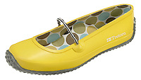 tretorn shoe in yellow