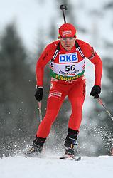 Adam Kwak (POL) at Men 20 km Individual at E.ON Ruhrgas IBU World Cup Biathlon in Hochfilzen (replacement Pokljuka), on December 18, 2008, in Hochfilzen, Austria. (Photo by Vid Ponikvar / Sportida)