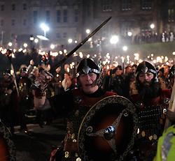EDINBURGH'S HOGMANAY TORCHLIGHT PROCESSION, Friday 30th December 2016<br /> <br /> Vikings lead the torchlight procession to Calton Hill, Edinburgh<br /> <br /> (c) Alex Todd   Edinburgh Elite media