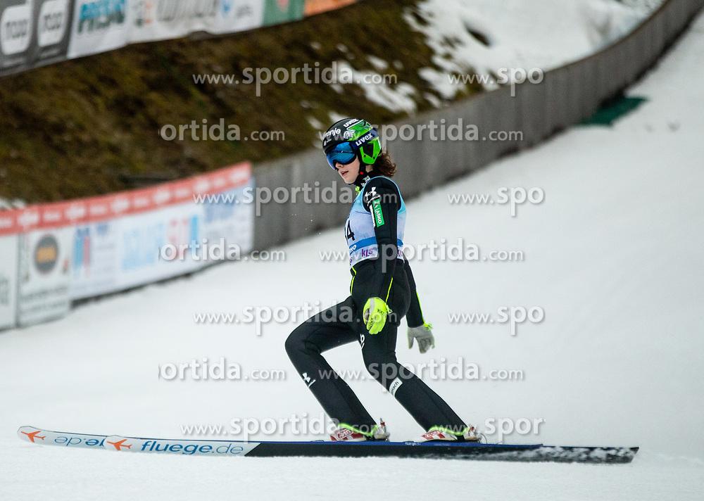 Jerneja Brecl of Slovenia during Day 3 of World Cup Ski Jumping Ladies Ljubno 2019, on February 10, 2019 in Ljubno ob Savinji, Slovenia. Photo by Matic Ritonja / Sportida
