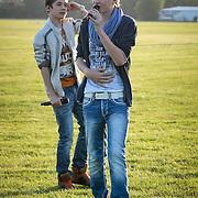 NLD/Loosdrecht/20130603 - Presentatie single jongensgroep Mainstreet voor Verschrikkelijke Ikke 2 , Nils Kaller en Daan Zwierink