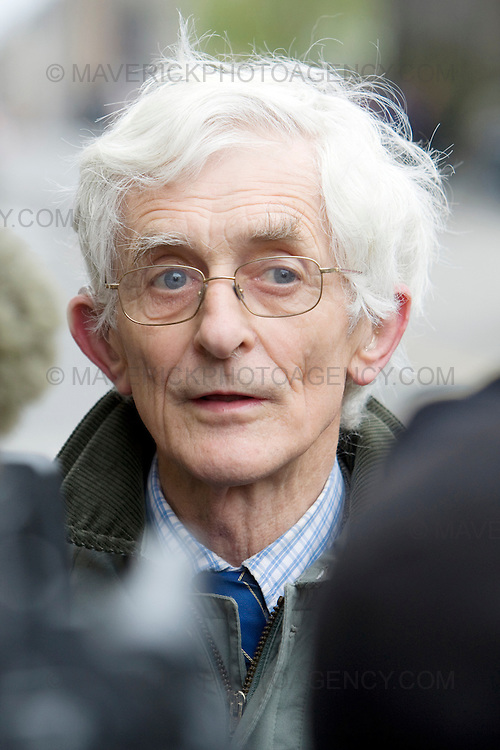 Dr Jim Swire  who lost his daughter in the Lockerbie disaster arrives at Edinburgh High Court...Abdelbaset al-Megrahi,the Libyan convicted of the Lockerbie bombing is to begin a second appeal against his conviction for blowing up a Pan Am flight 21 years ago...Picture Michael Hughes/Maverick