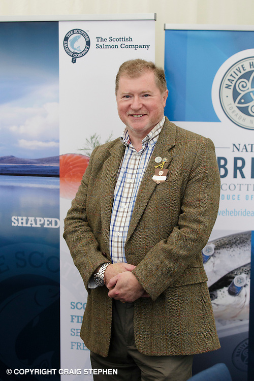 Royal Highland Show 2016, Ingliston, Edinburgh. PAYMENT TO CRAIG STEPHEN - 07905 483532<br /> <br /> Scottish Salmon - Craig Sanderson