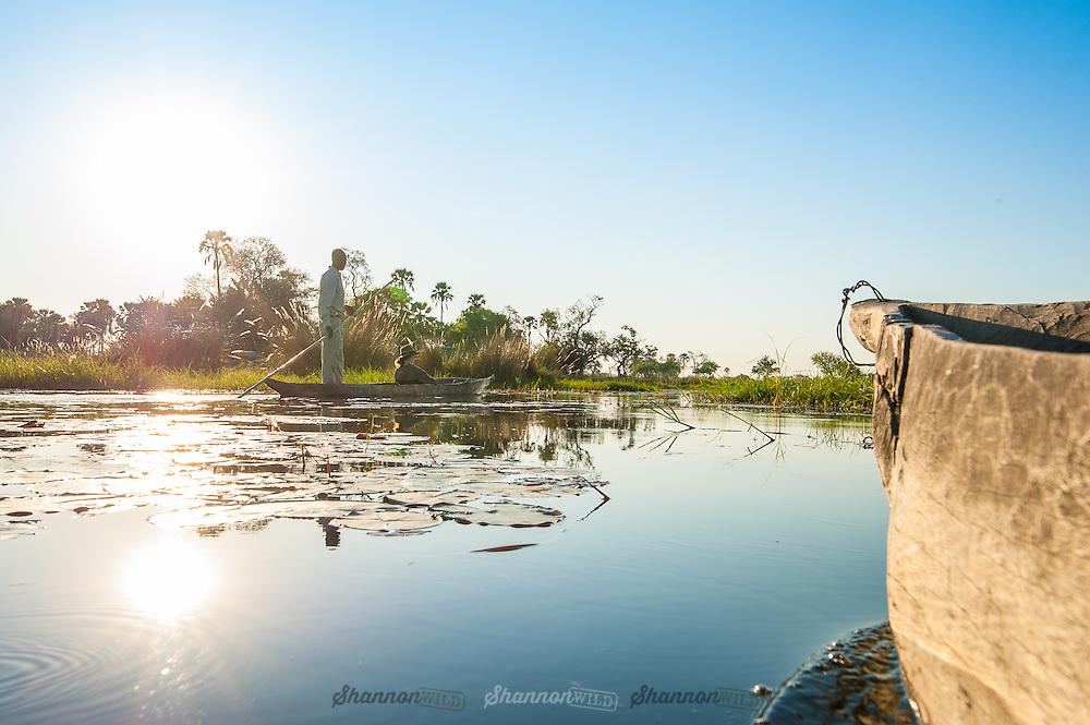 Mokoro Okavango Delta, Botswana