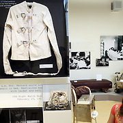 "A straitjacket and other restraints. The Oregon State Hospital in Salem has been home to psychiatric patients for more than a century. The movie ""One Flew Over the Cuckoo's Nest"" was filmed there, and the new Oregon State Hospital Museum of Mental Health honors the experiences of the patients who have lived there over the decades."