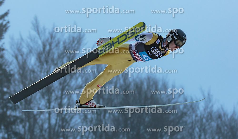 06.01.2018, Paul Außerleitner Schanze, Bischofshofen, AUT, FIS Weltcup Ski Sprung, Vierschanzentournee, Bischofshofen, Finale, im Bild Markus Schiffner (AUT) // Markus Schiffner of Austria during his Competition Jump for the Four Hills Tournament of FIS Ski Jumping World Cup at the Paul Außerleitner Schanze in Bischofshofen, Austria on 2018/01/06. EXPA Pictures © 2018, PhotoCredit: EXPA/ Stefanie Oberhauser