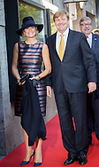 Utrecht, 03-10-2016<br /> <br /> King Willem-Alexander and Queen Maxima open a exhibition at the AMU Aboriginal Museum Utrecht.<br /> <br /> <br />                    <br /> <br /> COPYRIGHT ROYALPORTRAITS EUROPE BERNARD RUEBSAMEN