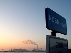 NETHERLANDS AMSTERDAM 02JAN09 - Coal-fired power station near the NDSM wharf in Amsterdam...jre/Photo by Jiri Rezac