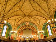 Lutherkirche innen, Wiesbaden, Hessen, Deutschland | interior of Luther church, Wiesbaden, Hesse, Germany
