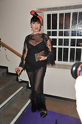 ROSSY DE PALMA at The Surrealist Ball in aid of the NSPCC in association with Harpers Bazaar magazine held at the Banqueting House, Whitehall, London on 17th March 2011.