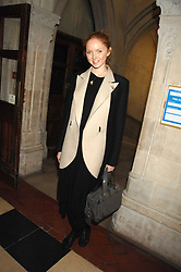 LILY COLE at the 2nd Fortune Forum Summit and Gala Dinner held at the Royal Courts of Justice, The Strand, London on 30th November 2007.<br /><br />NON EXCLUSIVE - WORLD RIGHTS