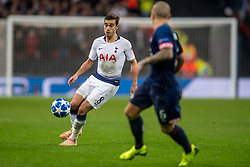 November 6, 2018 - London, Greater London, England - Harry Winks of Tottenham Hotspur during the UEFA Champions League Group Stage match between Tottenham Hotspur and PSV Eindhoven at Wembley Stadium, London, England on 6 November 2018. Photo by Salvio Calabrese. (Credit Image: © AFP7 via ZUMA Wire)