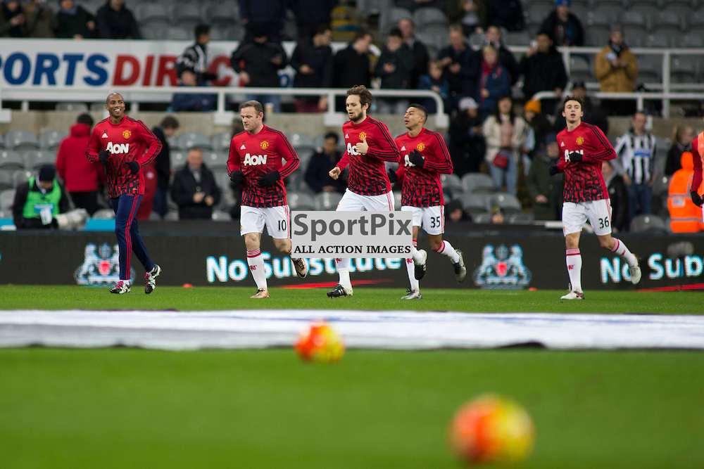 Newcastle v Manchester Utd 12 January 2016<br />