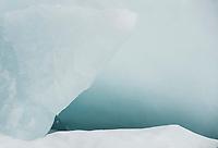 Melting ice formation at Leavitt Beach, Meredith, NH.  ©2015 Karen Bobotas Photographer.
