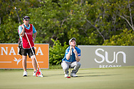 Gavin Moynihan (IRL) on the 7th during the 3rd round of the AfrAsia Bank Mauritius Open, Four Seasons Golf Club Mauritius at Anahita, Beau Champ, Mauritius. 01/12/2018<br /> Picture: Golffile | Mark Sampson<br /> <br /> <br /> All photo usage must carry mandatory copyright credit (© Golffile | Mark Sampson)