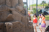 South Padre Island Sand Sculpture Trail- EDITORIAL