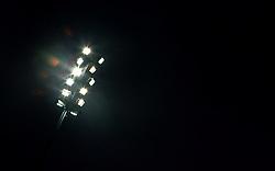 26.05.2010, Jacques Lemans Arena, St. Veit, AUT, FIFA Worldcup Vorbereitung, Slowakei vs Kärnten Auswahl im Bild Feature Flutlichtmasten, EXPA Pictures © 2010, PhotoCredit: EXPA/ J. Feichter / SPORTIDA PHOTO AGENCY