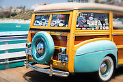 Woodie Classic Car Exhibit San Clemente California