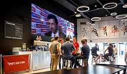 The set up of the Sports Bar and Grill at Ashton Gate ahead of England vs Russia- Mandatory by-line: Robbie Stephenson/JMP - 11/06/2016 - FOOTBALL - Ashton Gate - Bristol, United Kingdom  - England vs Russia - UEFA Euro 2016