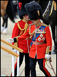 HM The Queen with Prince Phillip arrive at Horse Guards Parade for the Queen's Trooping of the Colour, The Queen's Birthday Parade, Saturday June 16, 2012. Photo by Andrew Parsons/i-Images..All Rights Reserved ©Andrew Parsons/i-Images .See Special Instructions