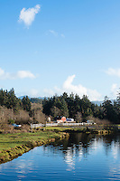 Ecola Creek, Cannon Beach, OR.