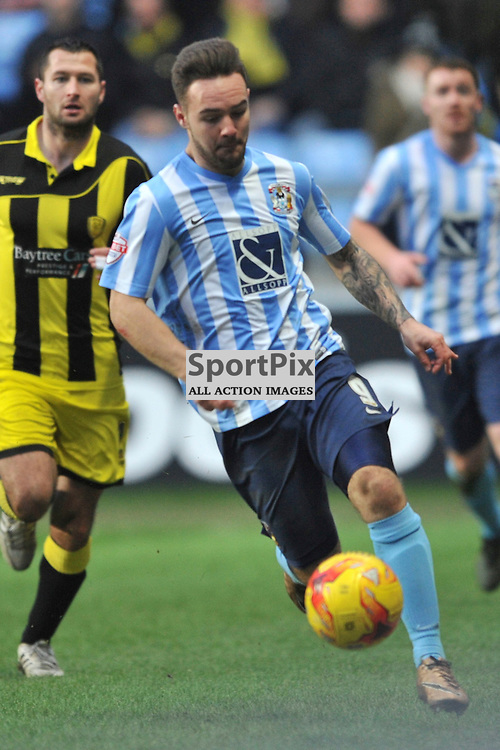 Adam Armstrong Coventry City, Coventry City v Burton Albion, Ricoh Arena,  Sky Bet League 1, Saturday 16th JJanuary 2016, (Mike Capps/Sportpix)