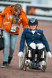 Vermeulen Demi, (NED), Vaness - Team Competition Grade II Para Dressage - Alltech FEI World Equestrian Games™ 2014 - Normandy, France.<br /> © Hippo Foto Team - Jon Stroud <br /> 25/06/14