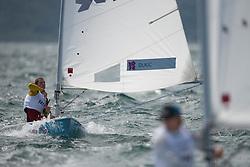 2012 Olympic Games London / Weymouth<br /> Racing day 1 Laser<br /> LaserMNE Dukic Milivoj