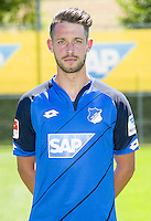 German Bundesliga - Season 2016/17 - Photocall 1899 Hoffenheim on 19 July 2016 in Zuzenhausen, Germany: Mark Uth. Photo: APF  | usage worldwide