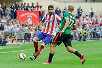 Atletico de Madrid´s Raul Garcia and Athletic Club´s Mikel Rico during 2014-15 La Liga match between Atletico de Madrid and Athletic Club at Vicente Calderon stadium in Madrid, Spain. May 02, 2015. (ALTERPHOTOS/Luis Fernandez)