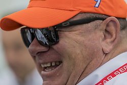 March 10, 2018 - St. Petersburg, Florida, United States of America - March 10, 2018 - St. Petersburg, Florida, USA: Team owner, Chip Ganassi, talks to his crew after a practice session for the Firestone Grand Prix of St. Petersburg at Streets of St. Petersburg in St. Petersburg, Florida. (Credit Image: © Walter G Arce Sr Asp Inc/ASP via ZUMA Wire)