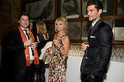 MICHAEL EVANS; JO WOOD; DAVID GANDY, Festival of Trees Gala Dinner. In aid of Save The Children.<br />