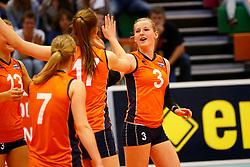 20140425 NED: Jong Oranje Vrouwen - Montenegro, Arnhem <br /> Charlotte Haar (3) The Netherlands<br /> ©2014-FotoHoogendoorn.nl / Pim Waslander