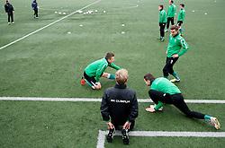 Boban Jovic of NK Olimpija Ljubljana exercise during the first day of team Spring Training on January 7, 2013 in Ljubljana, Slovenia. (Photo By Vid Ponikvar / Sportida.com)
