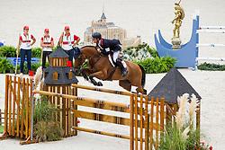 Scott Brash, (GBR), Hello Sanctos - Team & Individual Competition Jumping Speed - Alltech FEI World Equestrian Games™ 2014 - Normandy, France.<br /> © Hippo Foto Team - Leanjo De Koster<br /> 02-09-14