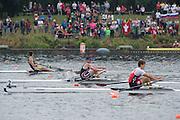 Hamburg. GERMANY.   USA JM1X. Benjamin DAVISON. Saturday Morning, Semi Finals A/B  at the 2014 FISA Junior World rowing. Championships.  11:21:59  Saturday  09/08/2014  [Mandatory Credit; Peter Spurrier/Intersport-images]