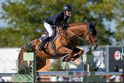 Van Speybroeck Eros, BEL, Bolero d'Hyrencourt<br /> Belgisch Kampioenschap Jeugd Azelhof - Lier 2020<br /> © Hippo Foto - Dirk Caremans<br /> 30/07/2020