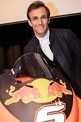 12.02.2019, Munderfing, AUT, MotoGP, Teampräsentation KTM Factory Racing, im Bild Johann Zarco (FRA) Moto GP // during the presentation of KTM factory racing for the upcoming Season in Munderfing, Austria on 2019/02/12. EXPA Pictures © 2019, PhotoCredit: EXPA/ Reinhard Eisenbauer