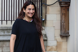 """London, UK. 25 September, 2019. Luciana Berger, Liberal Democrat MP for Liverpool Wavertree, returns to Parliament on the day after the Supreme Court ruled that the Prime Minister's decision to suspend parliament was """"unlawful, void and of no effect"""". Credit: Mark Kerrison/Alamy Live News"""