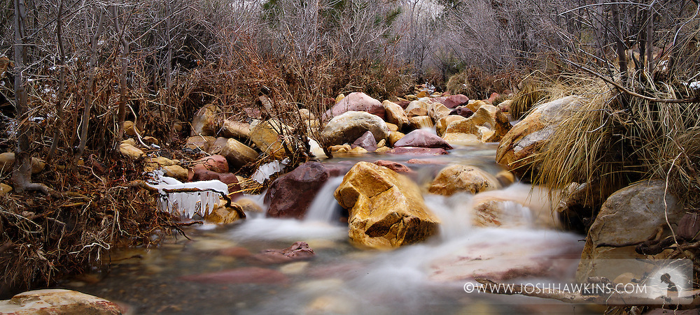 Oak Creek at Red Rock Canyon outside Las Vegas, NV.